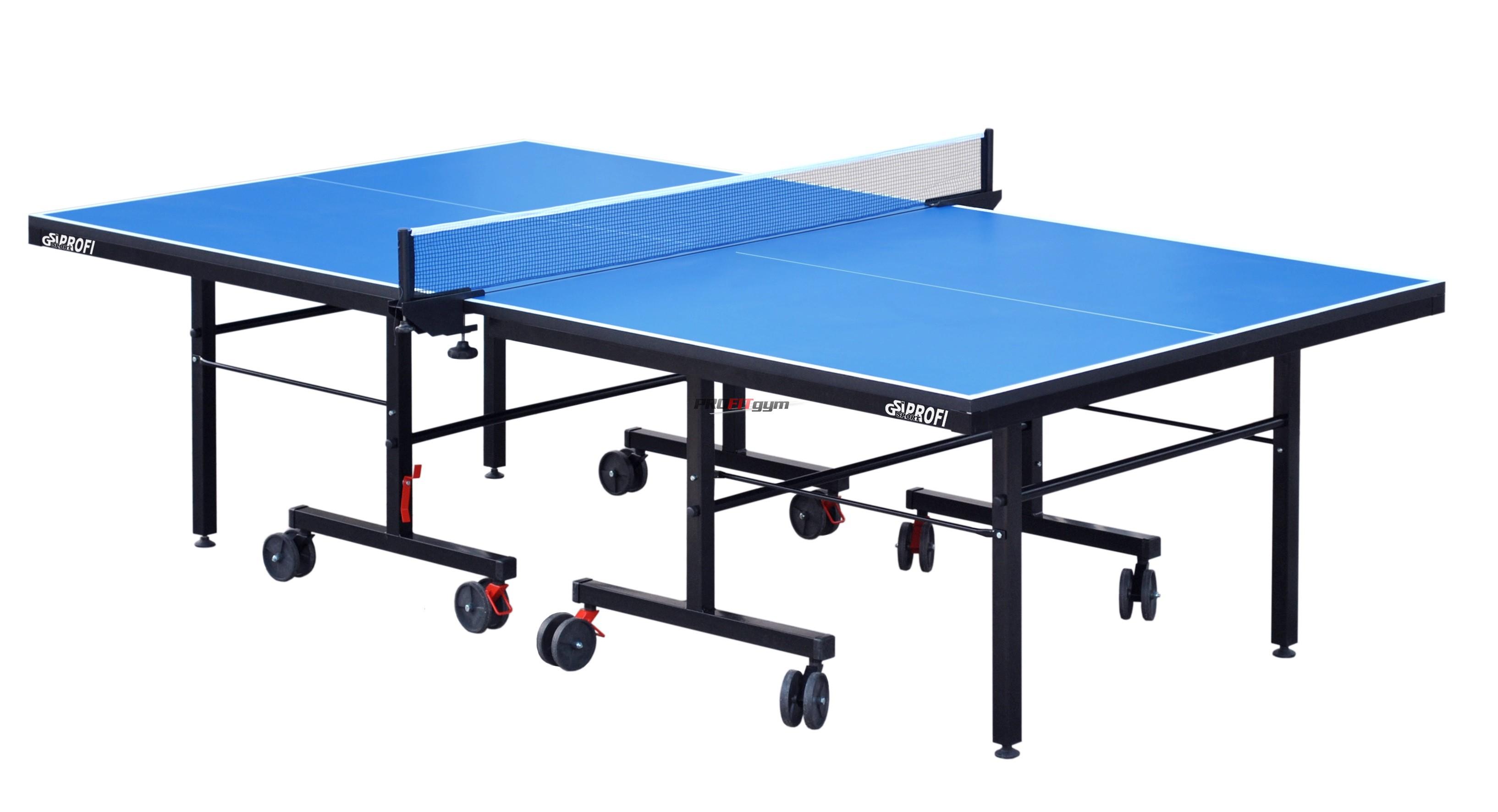 Теннисный стол профессиональный G-profi (синий)