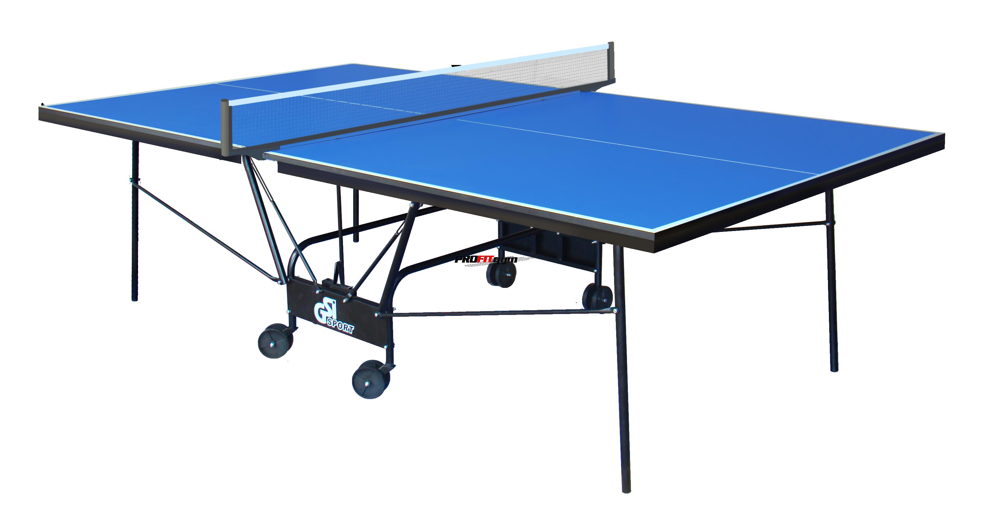 Теннисный стол для помещений Compact Strong (синий) Gk-5