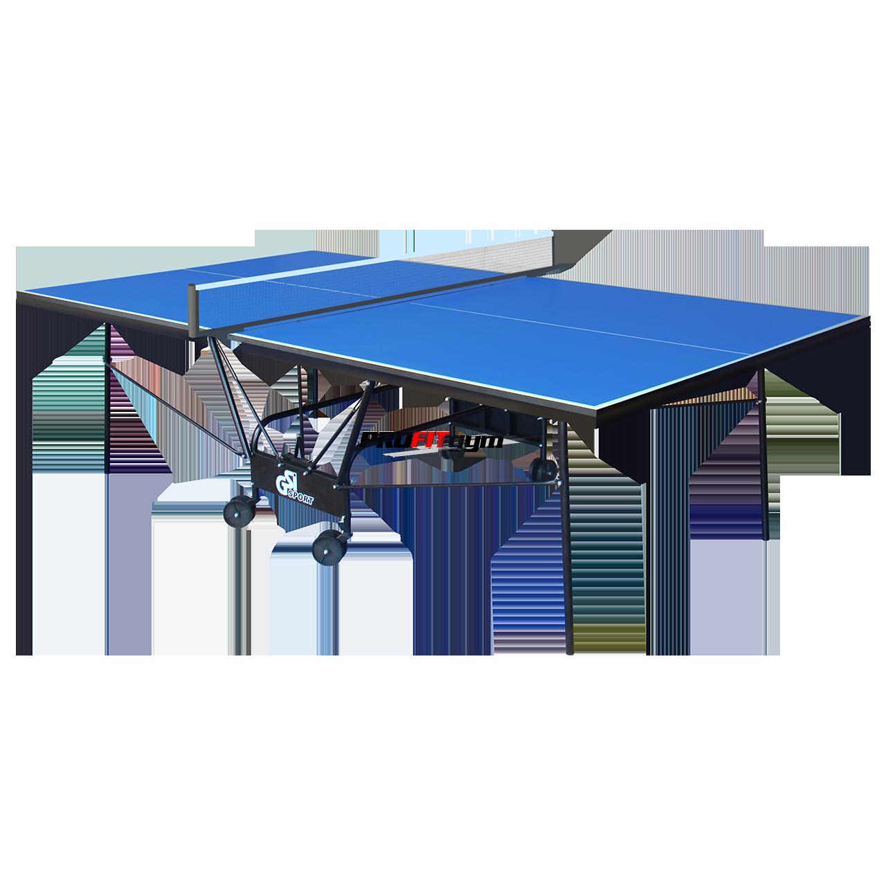Теннисный стол для помещений Compact Premium (синий) Gk-6