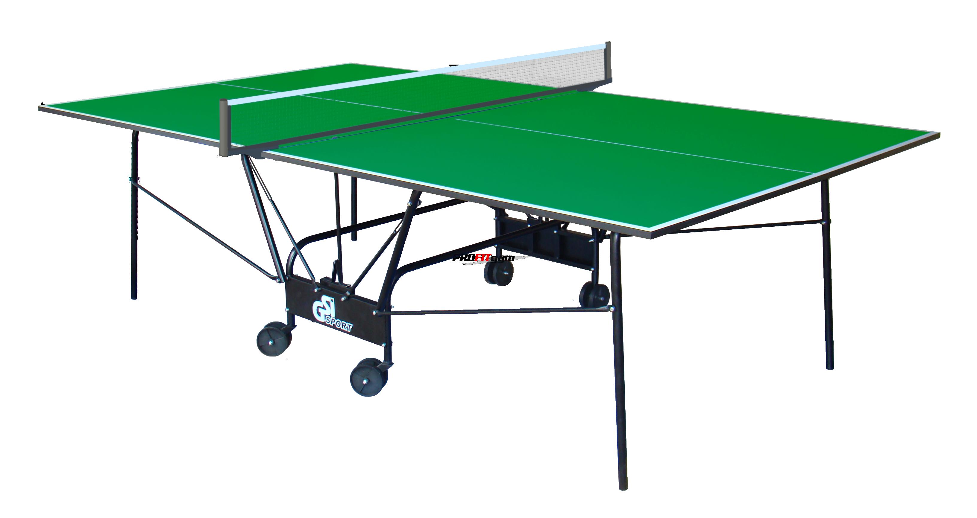 Теннисный стол для помещений Compact Light (зеленый) Gp-4