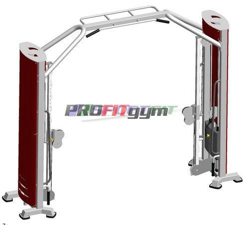 Тренажер Блочная рамка с регулируемой высотой блока SportFit 1206.1
