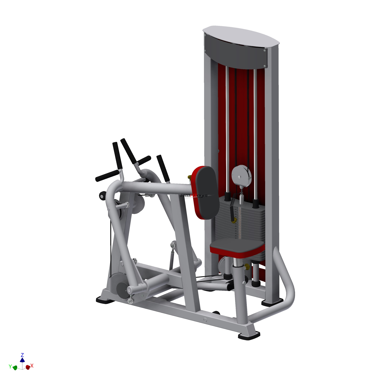 Тренажер Рычажная тяга SportFit 1215