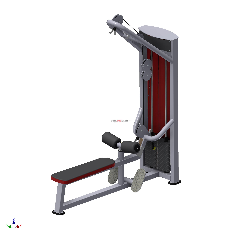 Тренажер Блок для мышц спины комбинированный SportFit 1217