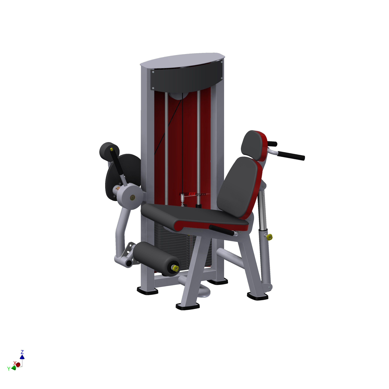 Тренажер сгибатель-разгибатель мышц бедра SportFit 1218