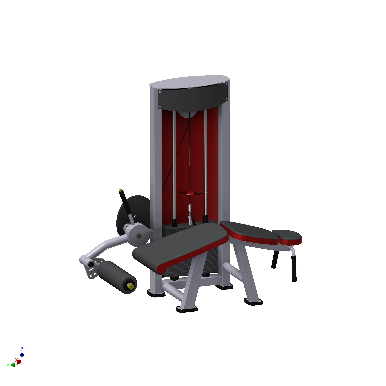 Тренажер Сгибатель бедра в положении лежа  SportFit 1219