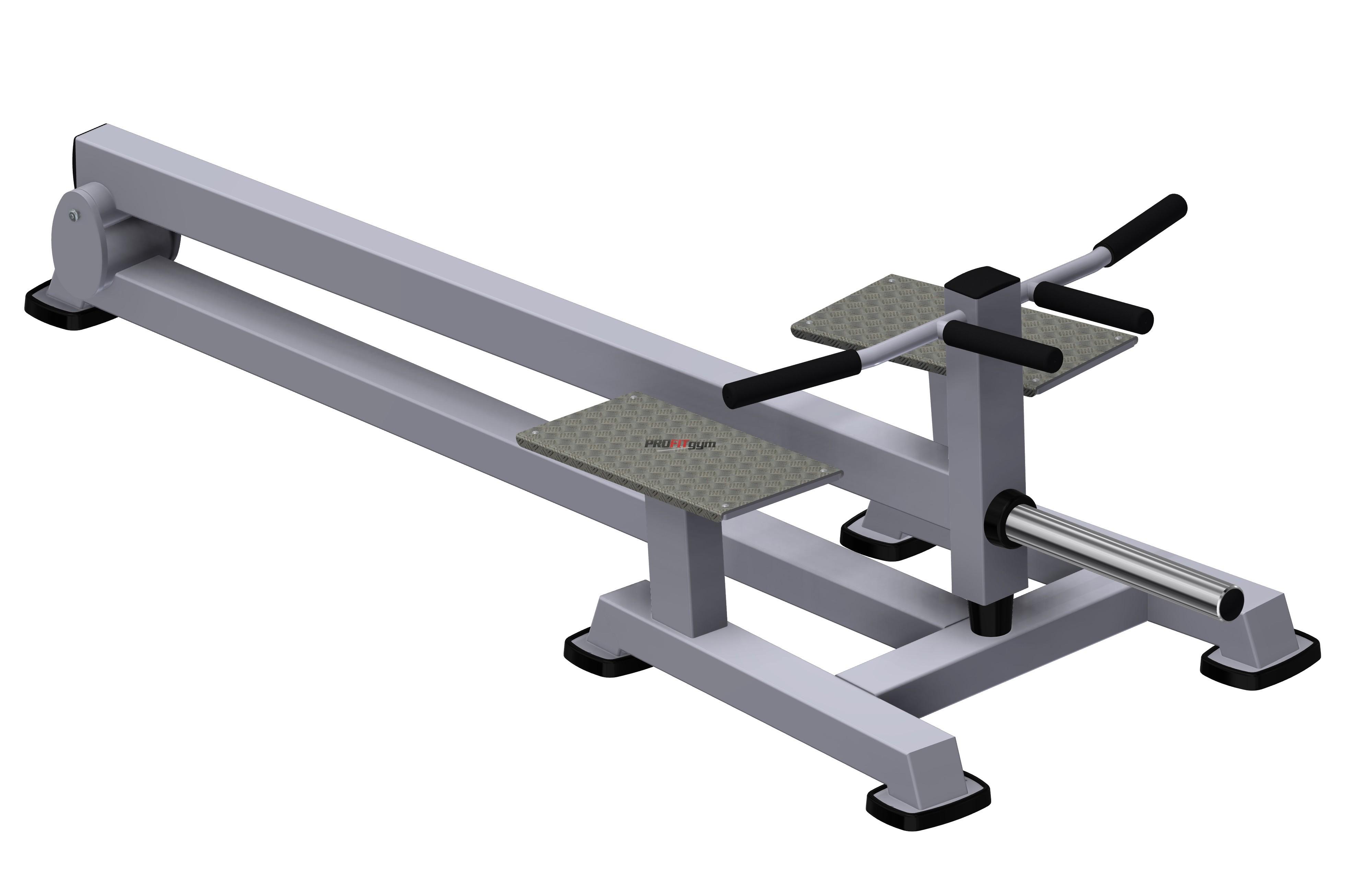 Тренажер Т-образная тяга с упором на ноги SportFit 1314