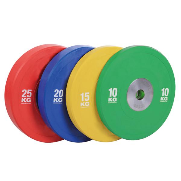 Бамперные диски цветные Rising Bamper Plate Color 25 кг