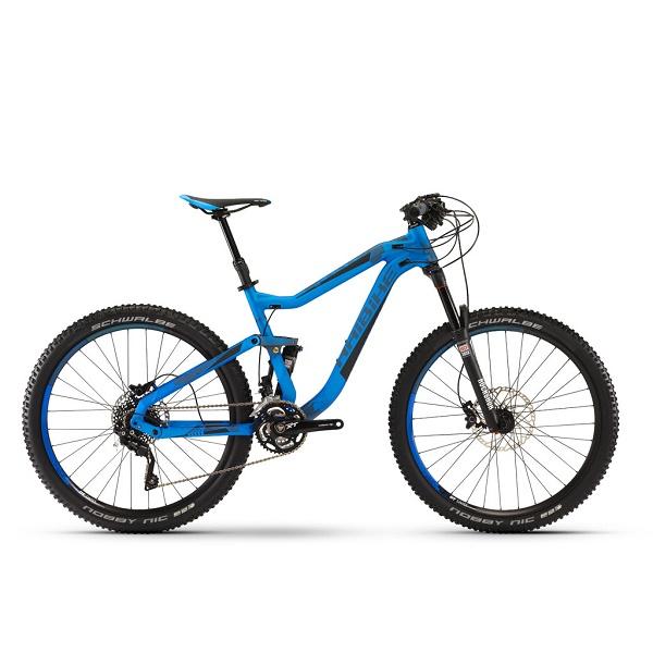"""Двухподвесный горный велосипед Haibike Q.AM 7.10 27.5"""", 140 мм, рама 44 см 2016"""