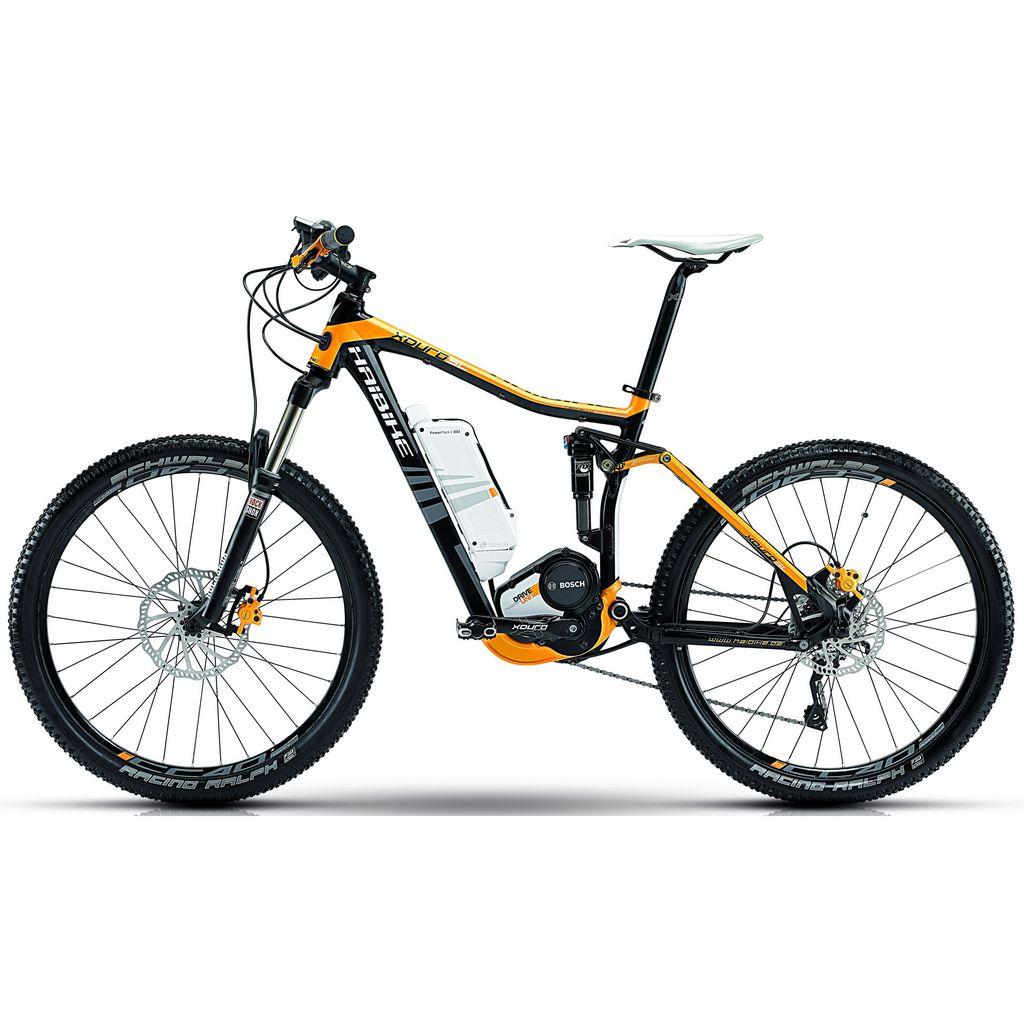 "Электро велосипед Велосипед Haibike Xduro FS SL 26"" 300Wh, 48см, желто-черный"