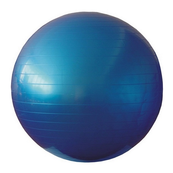 Мяч для аэробики Фитболл Landfit Fitness Ball 75cm with Pump