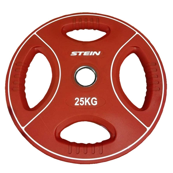 Профессиональный диск, цветной полиуретановый Stein TPU Color Plate 25 kg