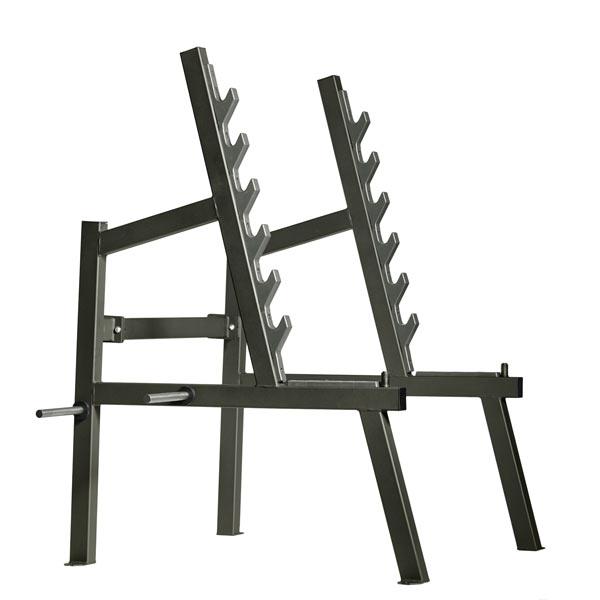 Силовая стойка для тяг, жимов и приседаний Gym80 CORE Squat Rack