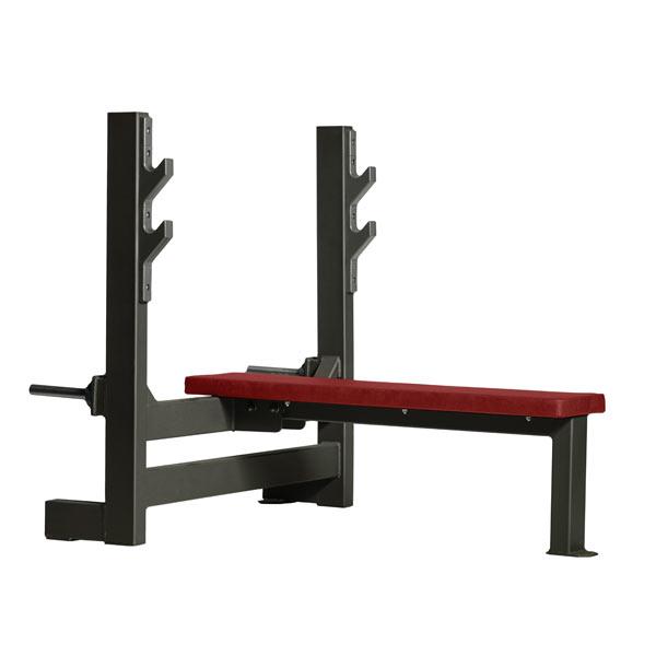 Скамья со стойками для жима горизонтальная Gym80 CORE Press Bench