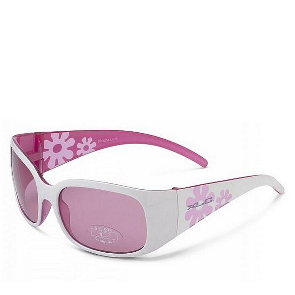 Солнцезащитные детские очки Maui SG-K03, бело-розовая оправа