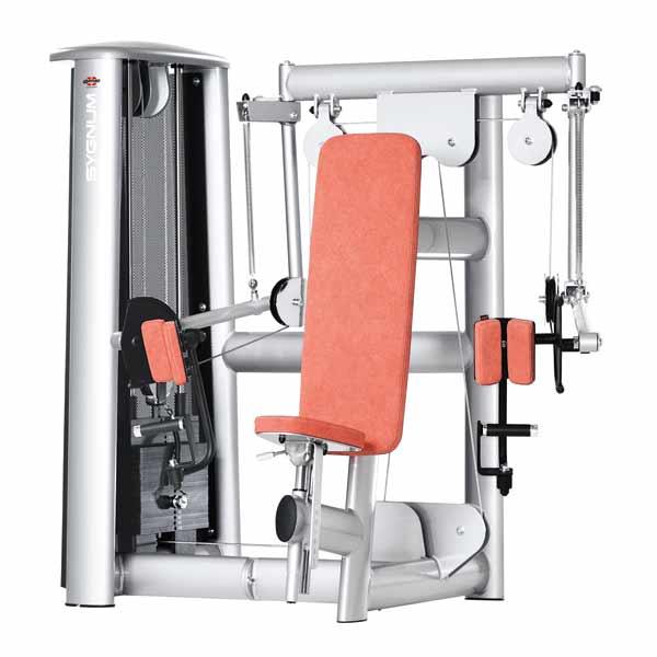Тренажер - Бицепс-машина с упором в локоть GYM80 Innovation Bizeps Curl Machine
