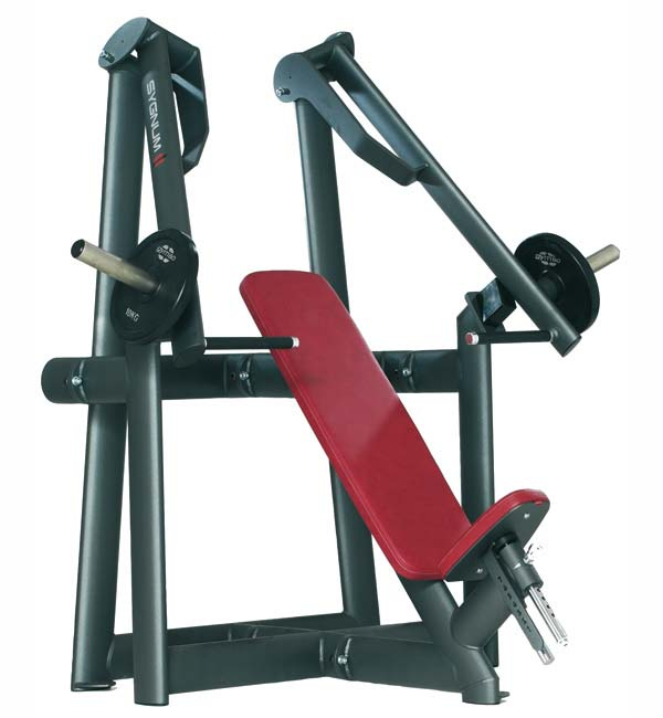 Тренажер - Горизонтальный жим от груди GYM80 SYGNUM Plate loaded Seated Chest Press Machine