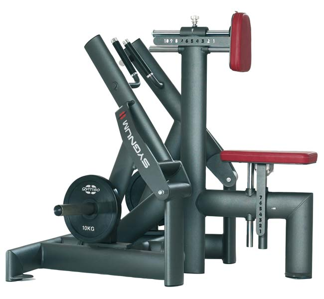 Тренажер - Гребная тяга GYM80 SYGNUM Plate loaded Seated Row Machine