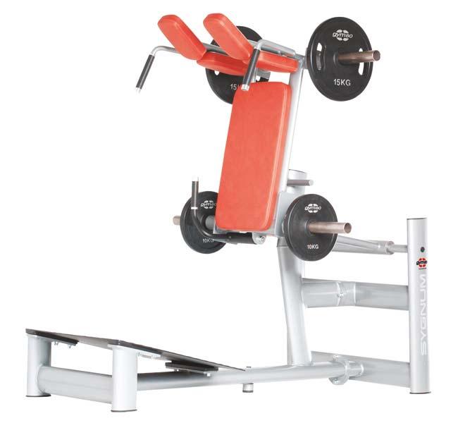 Тренажер - Жим ногами под углом GYM80 SYGNUM Plate loaded Squat Machine
