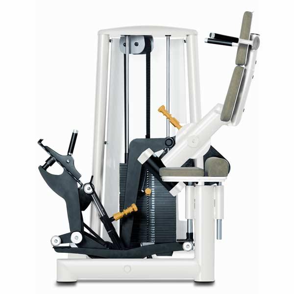 Тренажер - Разгибатель спины с движущейся платформой для ног GYM80 Medical Back Stretch Multi Joint Machine