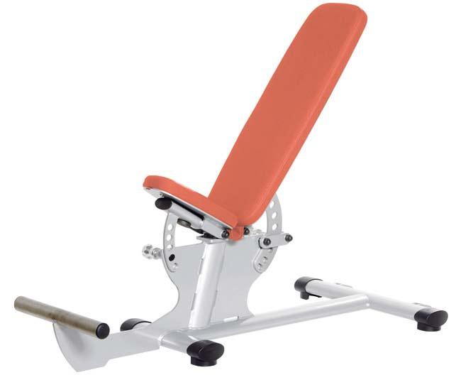 Тренажер - Регулируемая скамья, упоры для ног GYM80 SYGNUM Multi Position Bench with Foot Rest
