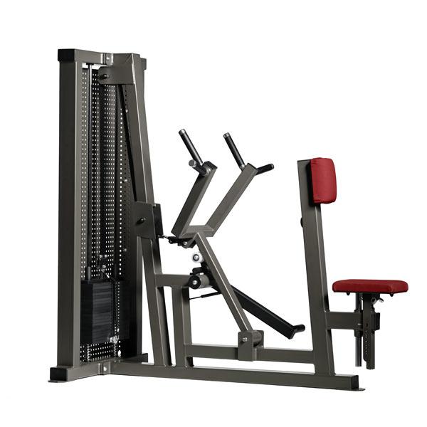 Тренажер - Рычажная тяга с упором в грудь Gym80 CORE Seated Rowing Machine with chest pad