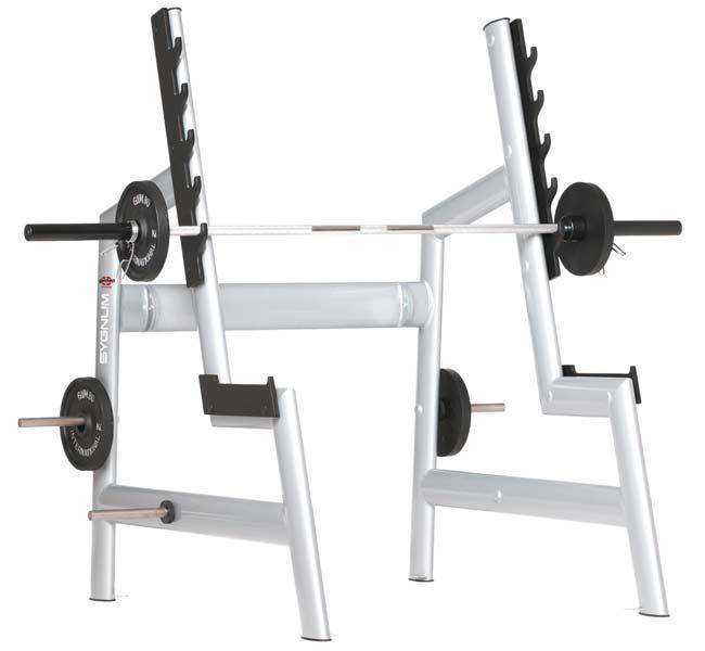 Тренажер - Стойка для жимов и приседаний GYM80 SYGNUM Squat Rack