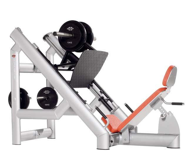 Тренажер - Жим ногами под углом GYM80 SYGNUM Plate loaded 45 Degree Leg Press