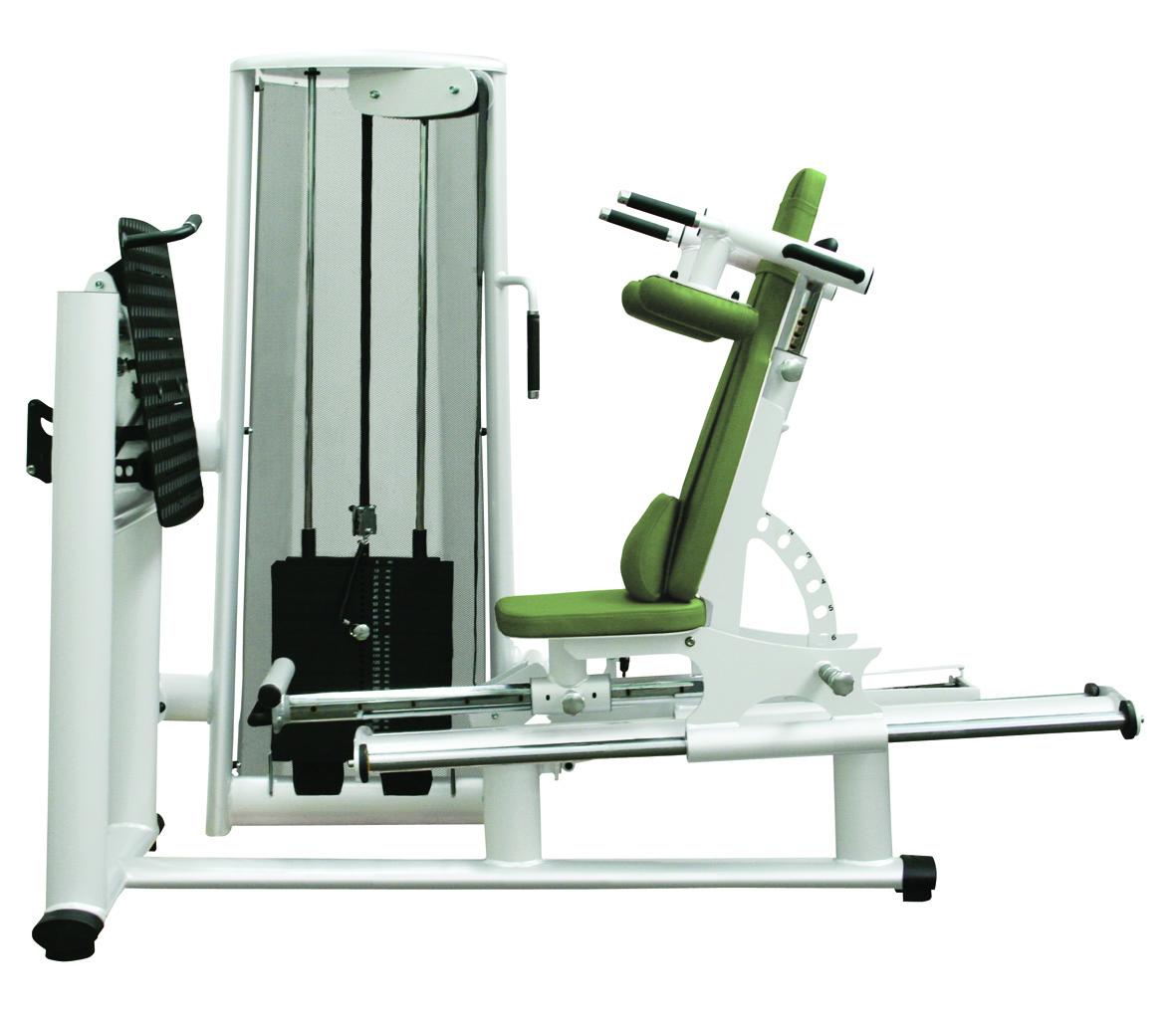 Тренажер - Жим ногами реабилитационный (сидя, лёжа) Gym80 Medical Leg Press seated, lying