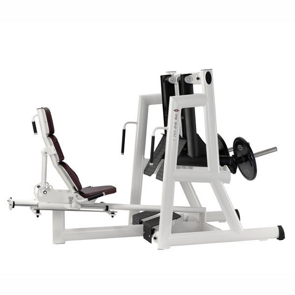Тренажер - Жим ногами с раздельным ходом рычагов GYM80 SYGNUM Plate loaded Leg Press