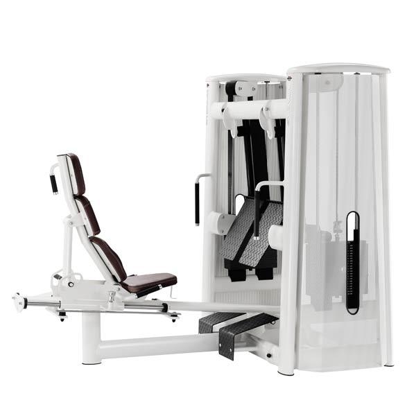 Тренажер - Жим ногами сидя, с раздельным ходом рычагов GYM80 SYGNUM Dual Leg Press