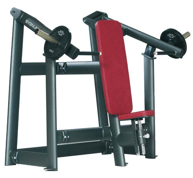 Тренажер - Вертикальный жим, легкий старт GYM80 SYGNUM Plate loaded Shoulder Press Machine