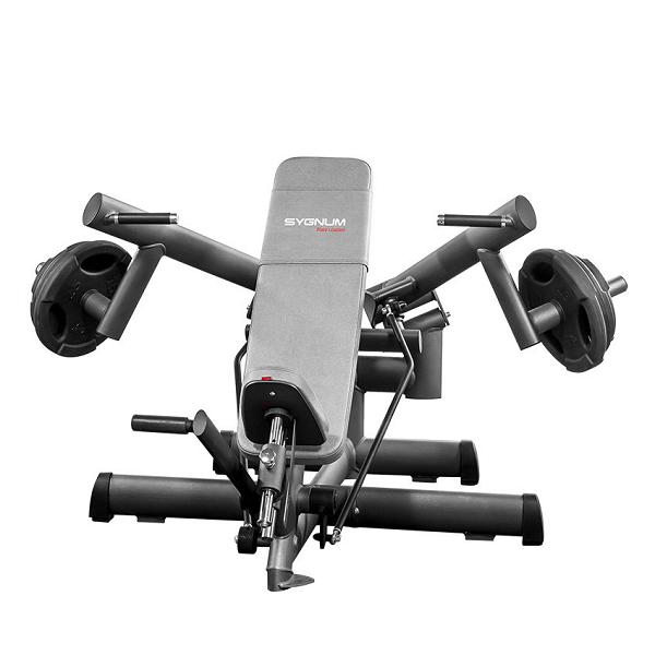 Тренажер - Жим от плечей вверх GYM80 SYGNUM Plate loaded Shoulder Press Machine