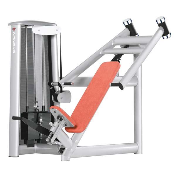 Тренажер - Жим под углом, легкий старт GYM80 SYGNUM Incline Bench Press Machine
