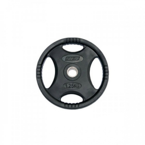 Диск Stein DB6061-1.25 черный обрезиненный 1,25 кг