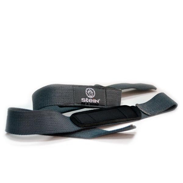 Лямки для тяги серые Stein Lifting straps SLN-2506